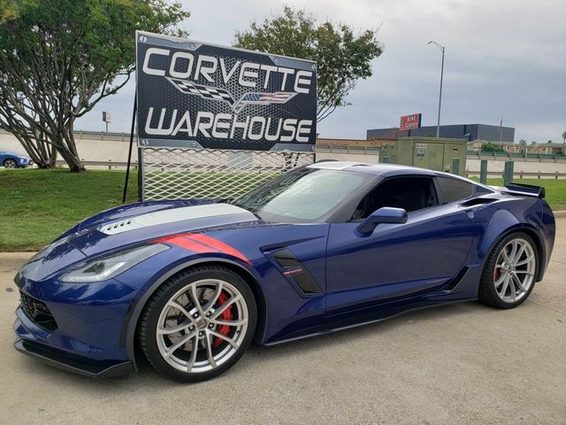 2018 Chevrolet Corvette Grand Sport 2LT, CFZ, NAV, DXX, Heritage,15k