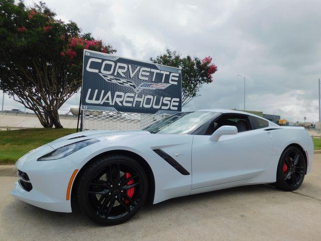 2018 Chevrolet Corvette Coupe Z51, 3LT, NAV, PDR, NPP, Auto, Only 9k