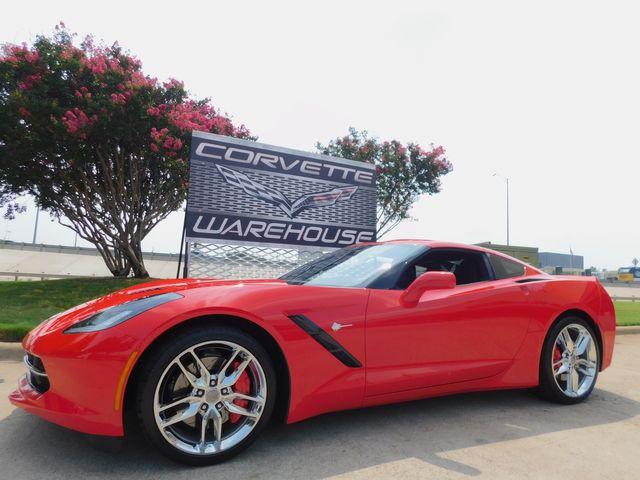 2018 Chevrolet Corvette Coupe Z51, NPP, MyLink, Auto, Chrome Wheels 5k