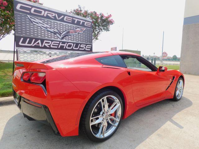 2018 Chevrolet Corvette Coupe Z51, NPP, MyLink, Auto, Chrome Wheels 5k in Dallas, Texas 75220