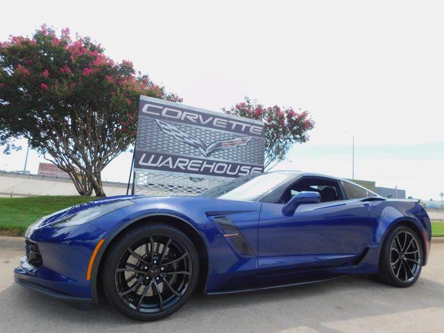 2018 Chevrolet Corvette Grand Sport 2LT, NAV, NPP, Auto, Black Alloys 3k