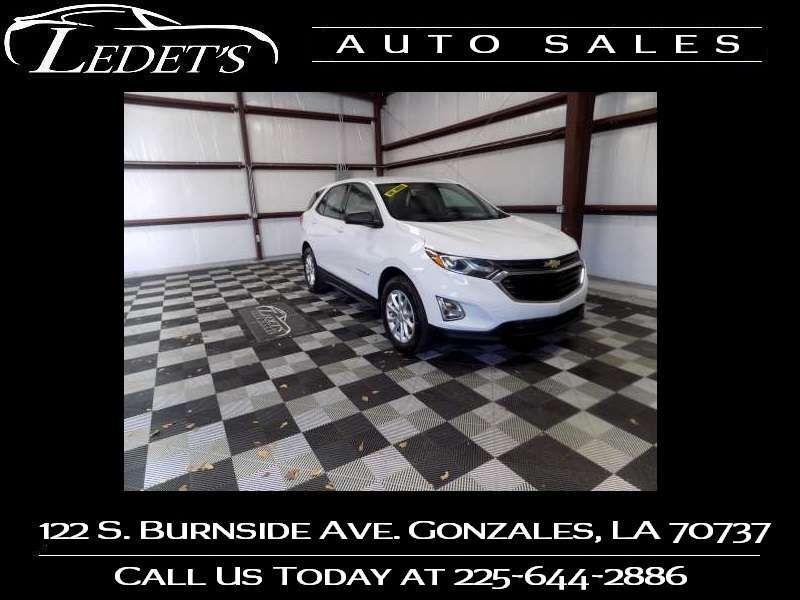 2018 Chevrolet Equinox LS - Ledet's Auto Sales Gonzales_state_zip in Gonzales Louisiana