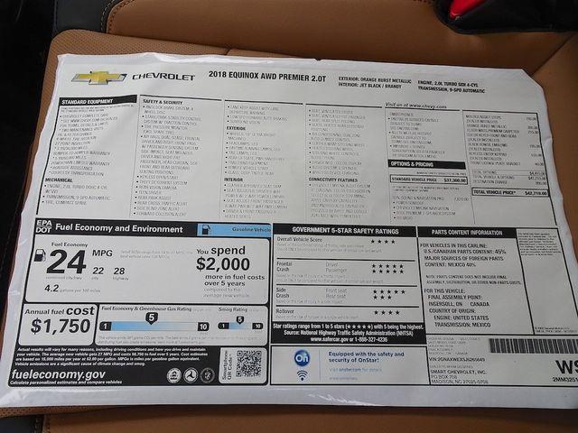 2018 Chevrolet Equinox Premier Madison, NC 70