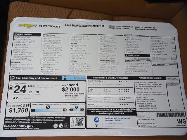 2018 Chevrolet Equinox Premier Madison, NC 53
