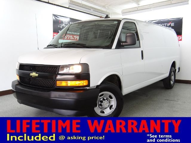 2018 Chevrolet Express Cargo Van 2500 Cargo Extended, LEATHER SEATS, BACKUP CAM