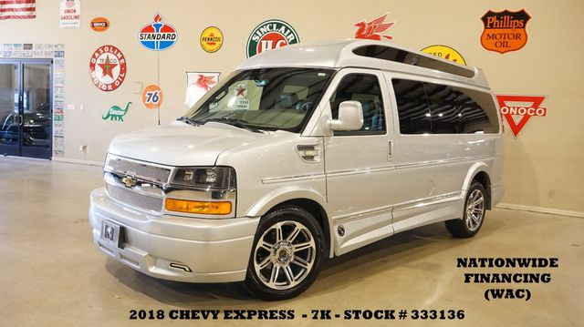 2018 Chevrolet Express Explorer Limited SE ROOF,NAV,REAR DVD,HTD LTH,7K
