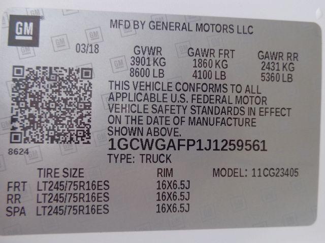 2018 Chevrolet Express Cargo Van Hoosick Falls, New York 7