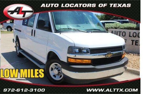 2018 Chevrolet Express Cargo Van in Plano, TX 75093