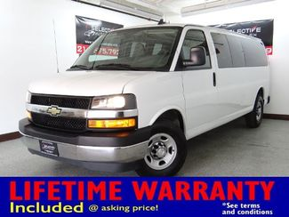 2018 Chevrolet Express Passenger LT, HEATED EXTERIOR MIRRORS, BACK UP CAM in Carrollton, TX 75006