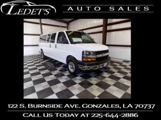 2018 Chevrolet Express Passenger LT - Ledet's Auto Sales Gonzales_state_zip in Gonzales