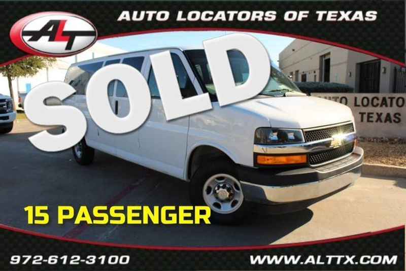 2018 Chevrolet Express Passenger LT | Plano, TX | Consign My Vehicle in Plano TX