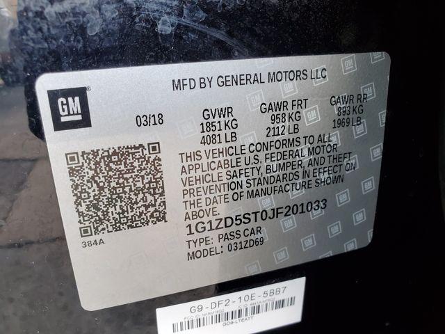 2018 Chevrolet Malibu LT in Brownsville, TX 78521