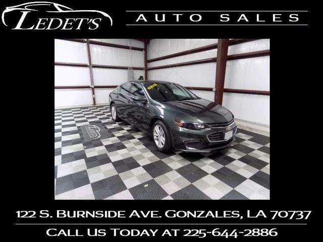 2018 Chevrolet Malibu LT - Ledet's Auto Sales Gonzales_state_zip in Gonzales