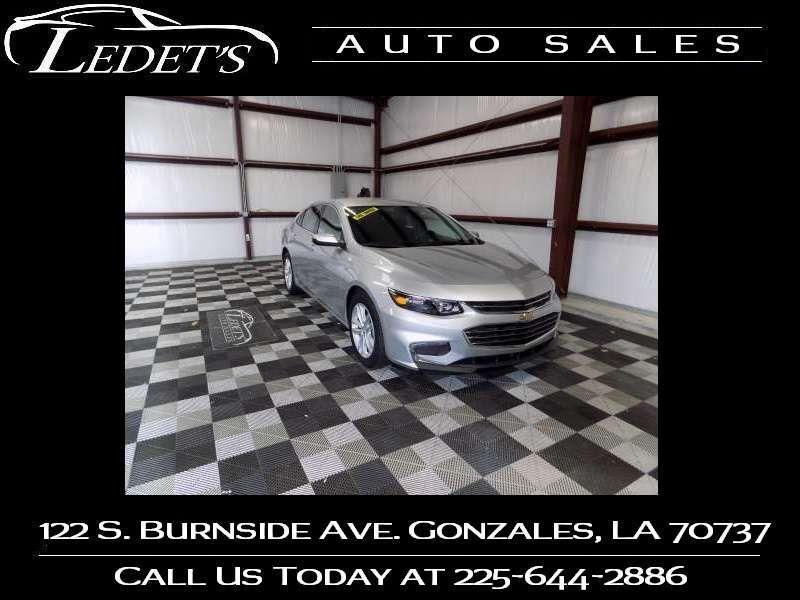 2018 Chevrolet Malibu LT - Ledet's Auto Sales Gonzales_state_zip in Gonzales Louisiana
