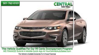 2018 Chevrolet Malibu LT | Hot Springs, AR | Central Auto Sales in Hot Springs AR