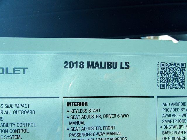 2018 Chevrolet Malibu LS Madison, NC 38