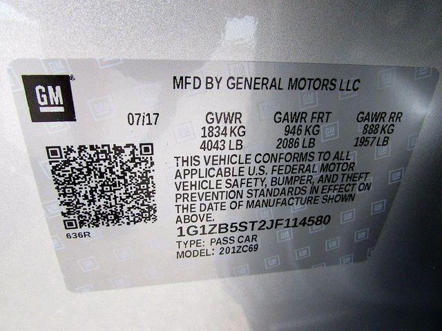 2018 Chevrolet Malibu LS Madison, NC 45