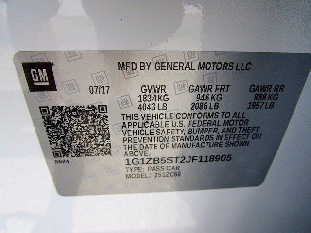 2018 Chevrolet Malibu LS Madison, NC 47
