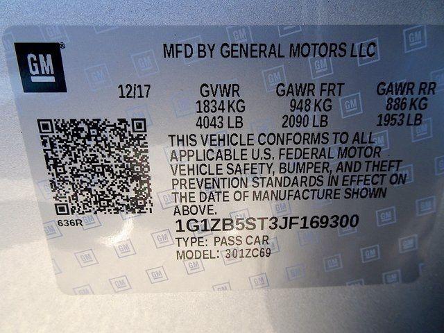 2018 Chevrolet Malibu LS Madison, NC 46