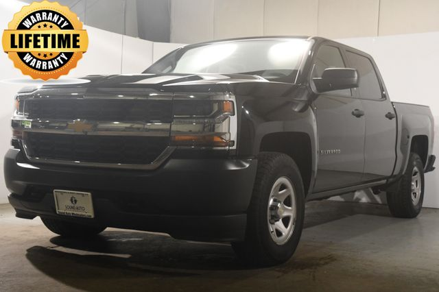 2018 Chevrolet Silverado 1500 Work Truck Crew