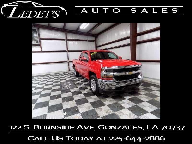 2018 Chevrolet Silverado 1500 LT - Ledet's Auto Sales Gonzales_state_zip in Gonzales Louisiana