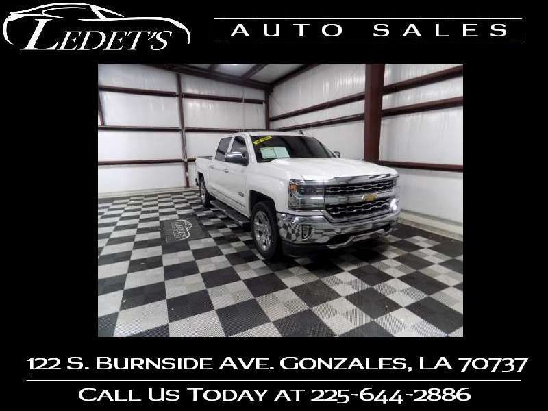 2018 Chevrolet Silverado 1500 LTZ - Ledet's Auto Sales Gonzales_state_zip in Gonzales Louisiana