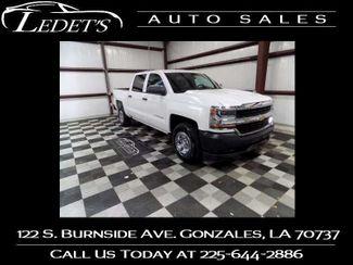 2018 Chevrolet Silverado 1500 Work Truck - Ledet's Auto Sales Gonzales_state_zip in Gonzales