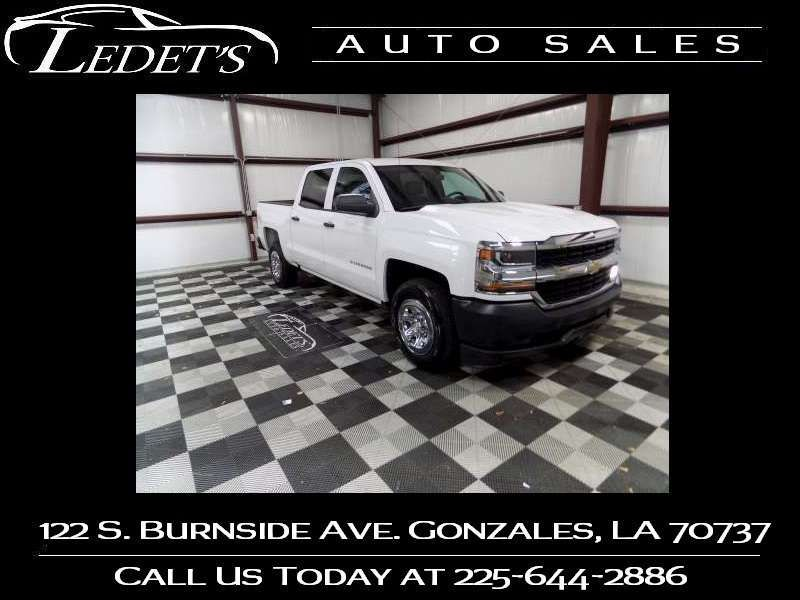2018 Chevrolet Silverado 1500 Work Truck - Ledet's Auto Sales Gonzales_state_zip in Gonzales Louisiana