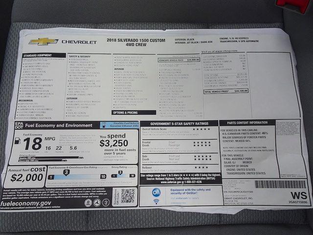 2018 Chevrolet Silverado 1500 Custom Madison, NC 47