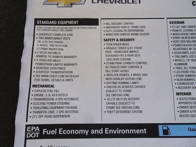 2018 Chevrolet Silverado 1500 LTZ Madison, NC 52