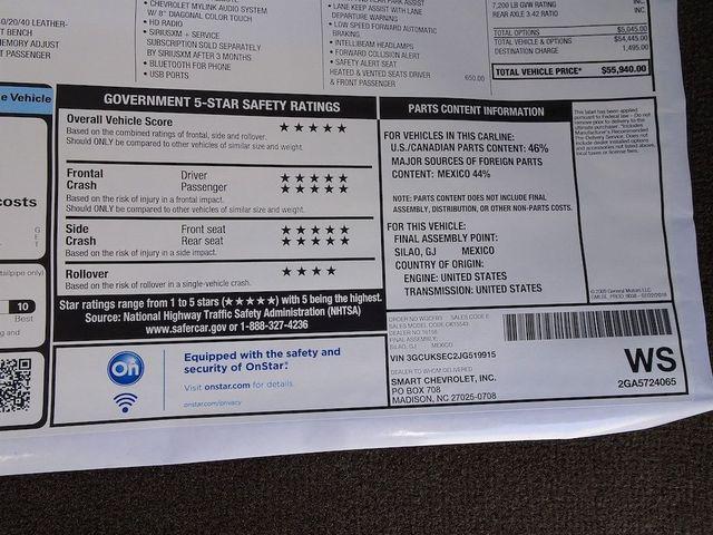 2018 Chevrolet Silverado 1500 LTZ Madison, NC 56