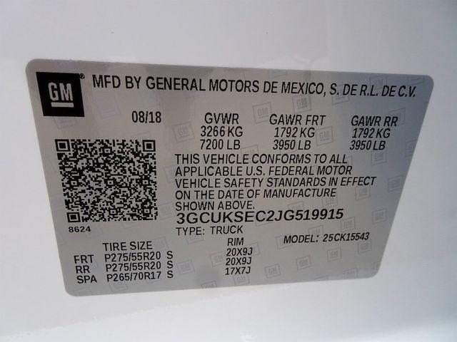 2018 Chevrolet Silverado 1500 LTZ Madison, NC 57