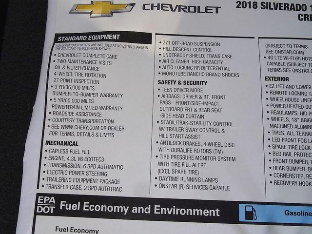 2018 Chevrolet Silverado 1500 LT Madison, NC 52
