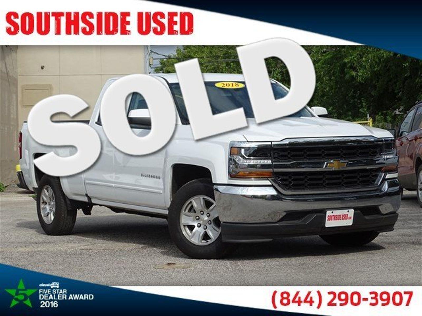 ... 2018 Chevrolet Silverado 1500 LT | San Antonio, TX | Southside Used In San  Antonio ...