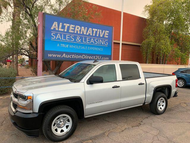 2018 Chevrolet Silverado 1500 W/T CREW CAB 5 YEAR/60,000 FACTORY POWERTRAIN WARRANTY
