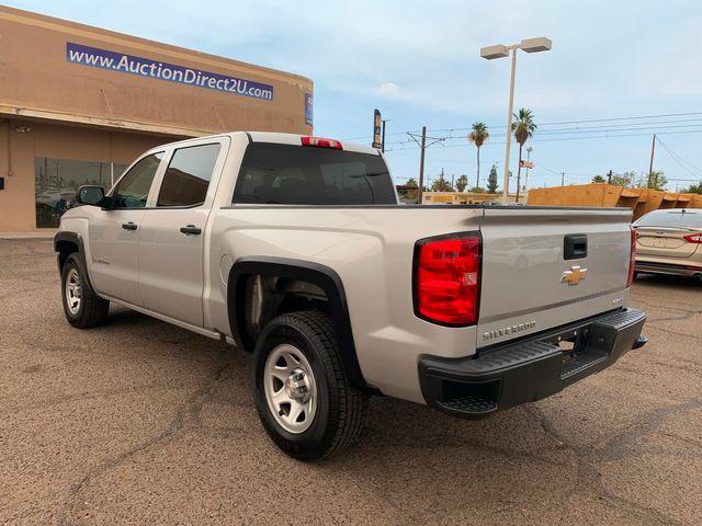 2018 Chevrolet Silverado 1500 W/T CREW CAB 5 YEAR/60,000 FACTORY POWERTRAIN WARRANTY Mesa, Arizona 2