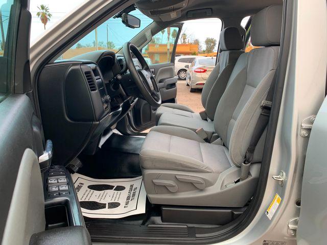 2018 Chevrolet Silverado 1500 W/T CREW CAB 5 YEAR/60,000 FACTORY POWERTRAIN WARRANTY Mesa, Arizona 9