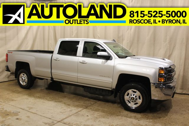 2018 Chevrolet Silverado 2500HD 4x4 Long Bed diesel LT