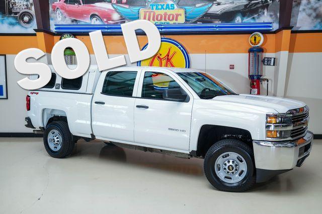2018 Chevrolet Silverado 2500HD 4x4 in Plano, TX 75075