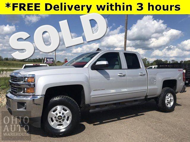 2018 Chevrolet Silverado 2500HD LT 4x4 V8 3/4 Ton in Canton, Ohio 44705