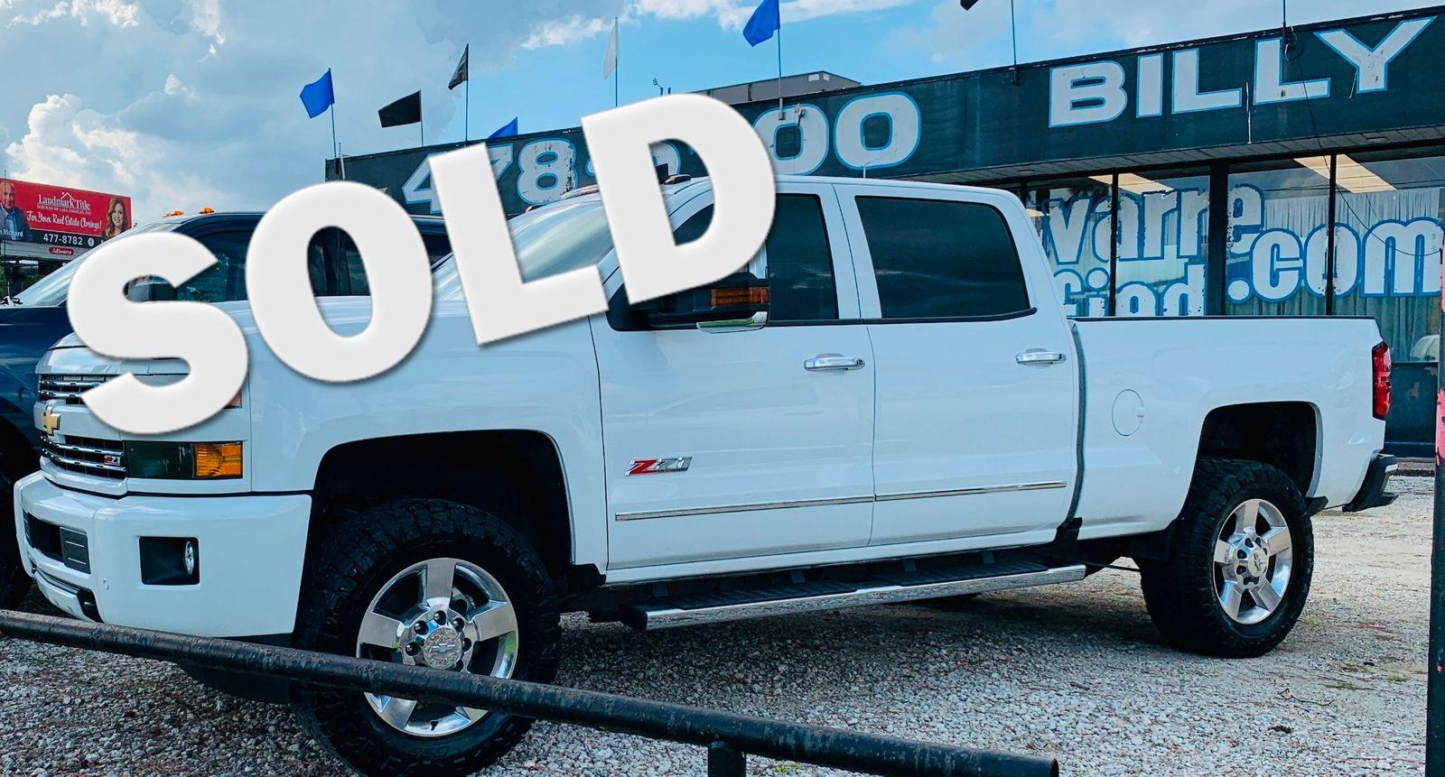 2018 Chevrolet Silverado 2500hd Lt City Louisiana Billy