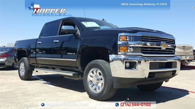 2018 Chevrolet Silverado 2500HD LTZ in McKinney, Texas 75070