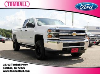 2018 Chevrolet Silverado 2500HD Work Truck in Tomball, TX 77375