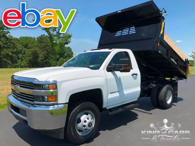 2018 Chevrolet Silverado 3500 4X4 RCAB MASON DUMP 1-OWNER ONLY 5K MILES LIKE NEW
