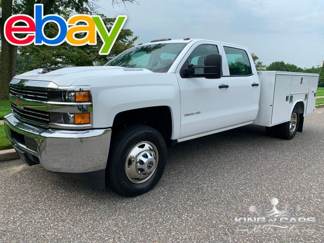 2018 Chevrolet Silverado 3500 4X4 READING UTILITY DIESEL in Woodbury, New Jersey 08093
