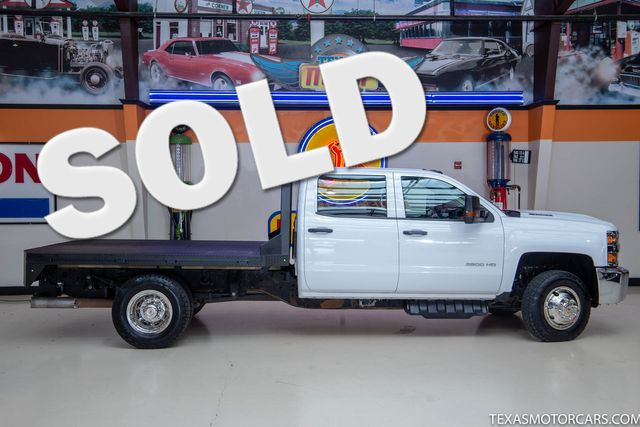 2018 Chevrolet Silverado 3500HD 4x4 Work Truck
