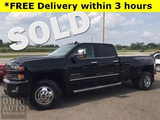 2018 Chevrolet Silverado 3500HD LTZ 4x4 Duramax DIESEL Nav Sunroof We Finance in Canton, Ohio 44705