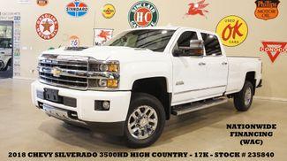2018 Chevrolet Silverado 3500HD High Country 4X4 DIESEL,ROOF,NAV,17K in Carrollton, TX 75006