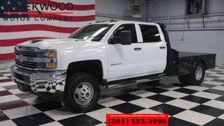 2018 Chevrolet Silverado 3500HD Work Truck 4x4 Diesel Utility Flatbed 1 Owner NICE in Searcy, AR 72143