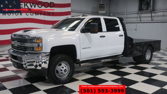 2018 Chevrolet Silverado 3500HD Work Truck 4x4 Diesel Utility Flatbed 1 Owner NICE in Searcy, AR 72143